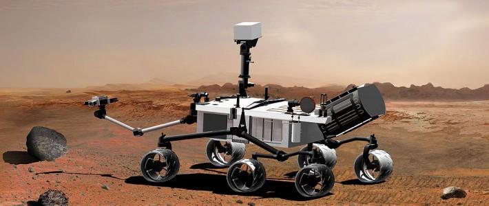 Ny sten upptäckt på Mars yta